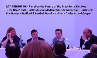 ILTA INSIGHT Panel - The Future of the Traditional Desktop