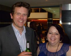 Simon Price (Recommind) & JoAnna Forshee (InsideLegal)