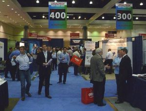 Day One Mid Afternoon - Exhibit Hall