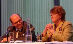 ILTA President Scott Christensen (Wildman, Harrold, Allen and Dixon) & INSIGHT Event Chair Janet Day (Berwin Leighton Paisner)
