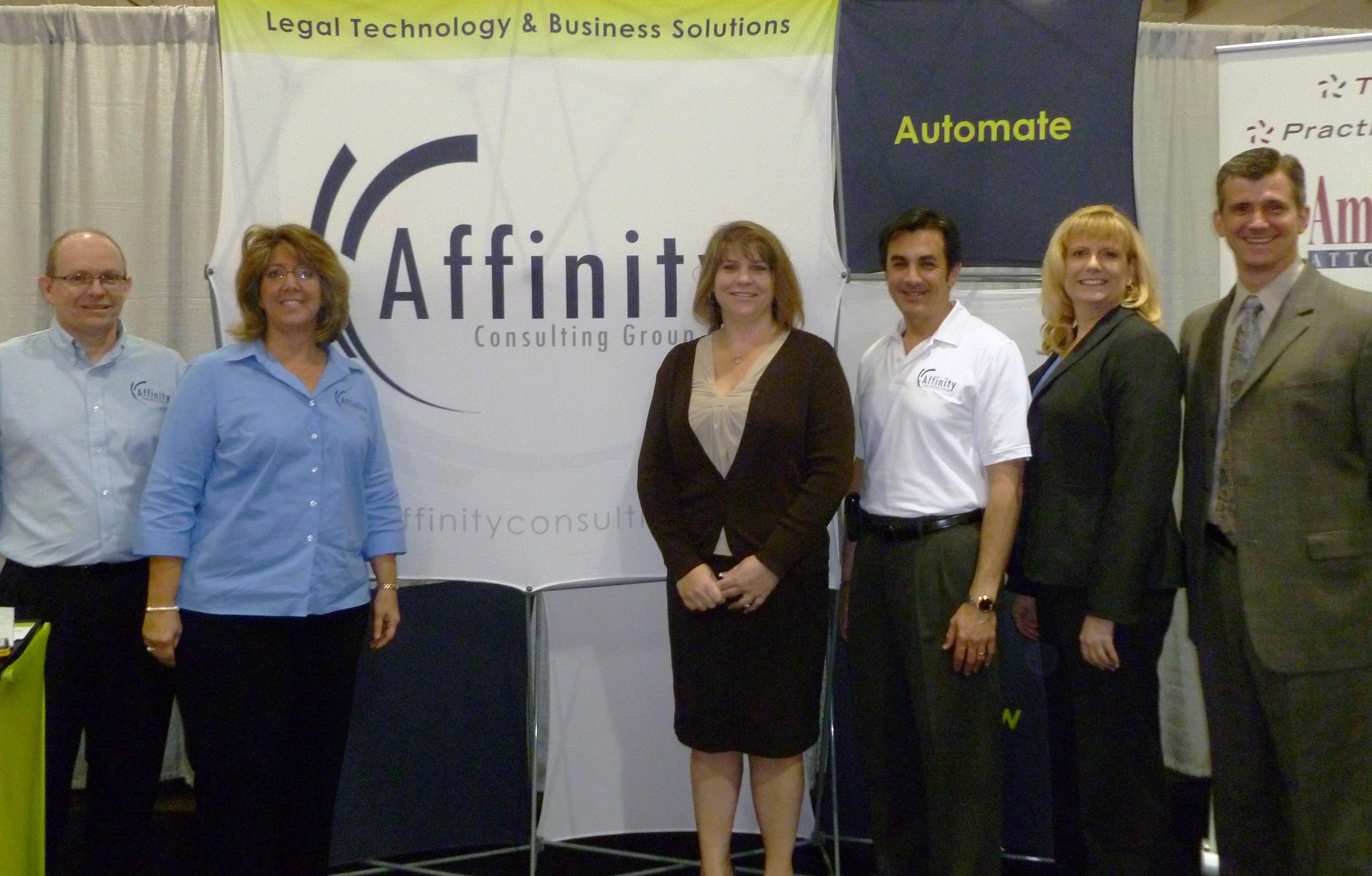 Affinity Consulting - Ed Emmerson, Cindy Emmerson, Debbie Foster, Steve Best, Britt Lorish Knuttgen, Barron Henley