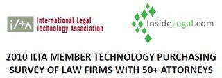 2010 InsideLegal/ILTA Member Technology Purchasing Survey