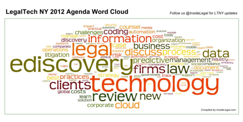 InsideLegal LTNY Word Cloud