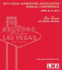 Legal Marketing Association 2013