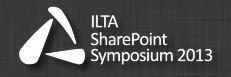 ILTA SharePoint Symposium