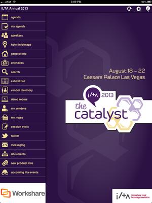 ILTA 2013 Conference App