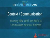 Jen Bullett on Communicating