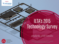 2015 ILTA Technology Survey