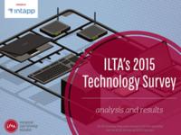 2015 ILTA Technology Survey