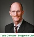 Todd Corham, Sedgwick CIO