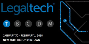 Legaltech NY 2018