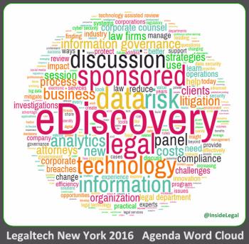 Legaltech NY 2016 Agenda Word Cloud-InsideLegal