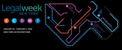 Legalweek New York 2018 Logo