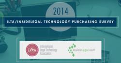 2014 ILTA InsideLegal Survey Infographic
