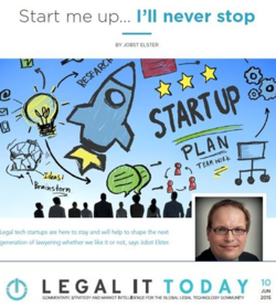 Legal IT Today - June 2015 - Jobst Elster