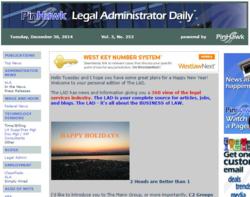 PinHawk Legal Administrator Daily