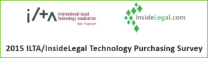 ILTA/InsideLegal Purchasing Survey
