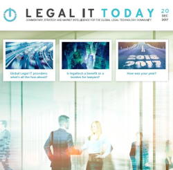 Legal IT Today Dec 2017