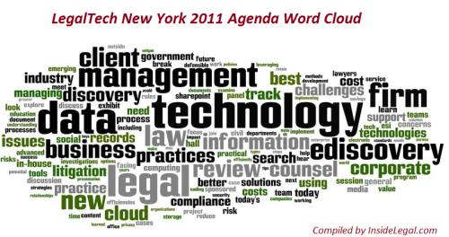 LTNY 2011 Agenda Word Cloud
