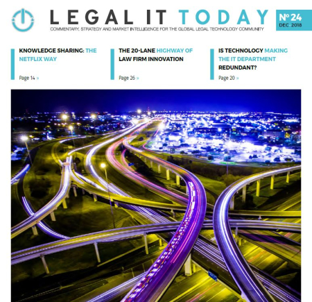 Legal IT Today - December 2018 Issue